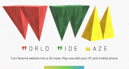 New Chrome Experiment Turns Any Desktop Website Into A 3D