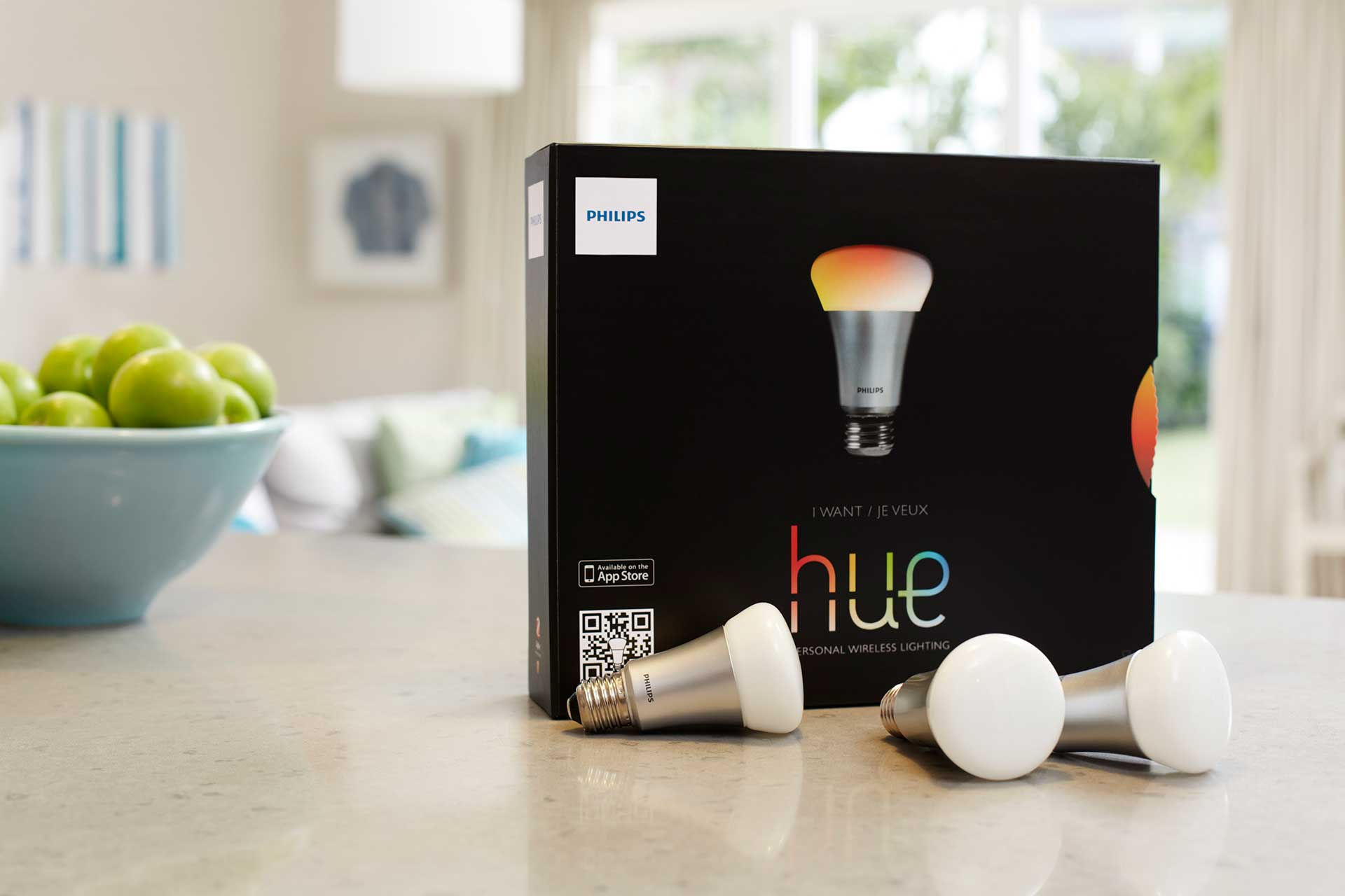 philips debuts open apis and an ios sdk for hue connected lighting system techcrunch. Black Bedroom Furniture Sets. Home Design Ideas