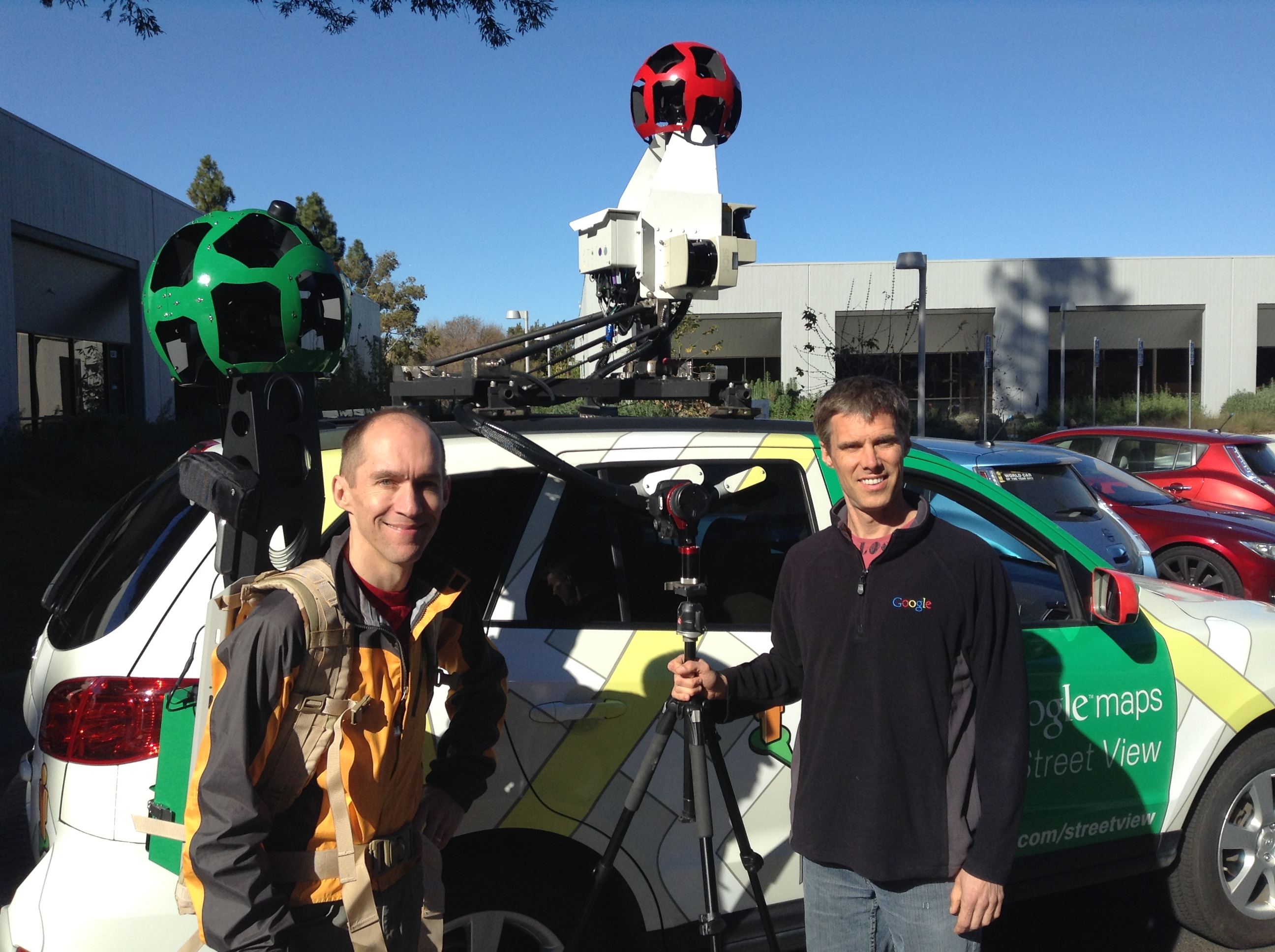 Inside Google Street View From Larry Page S Car To The Depths Of The Grand Canyon Techcrunch