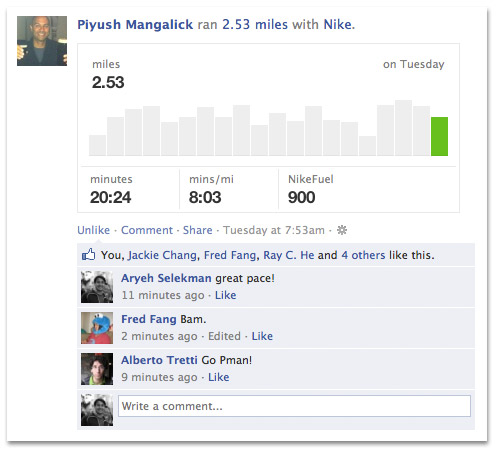 Facebook Adds More Verbs To Open Graph Actions, You Can Now