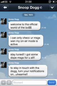 Line Snoop Dogg