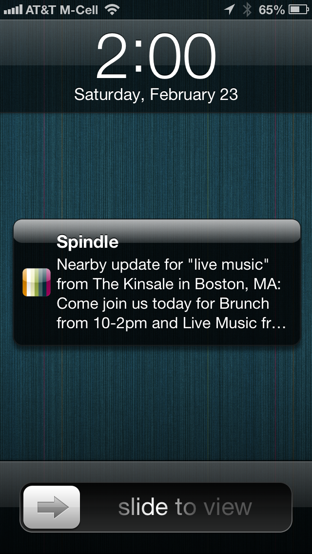 """Local Discovery App Spindle Debuts Google Now-Like """"Search"""
