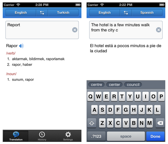 Yandex Translate app