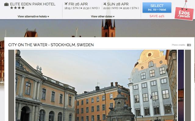 zaptravel stockholm results