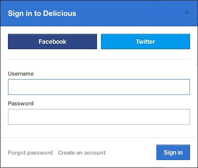 Delicious Becomes A Bit More Social Again, Adds Twitter And Facebook