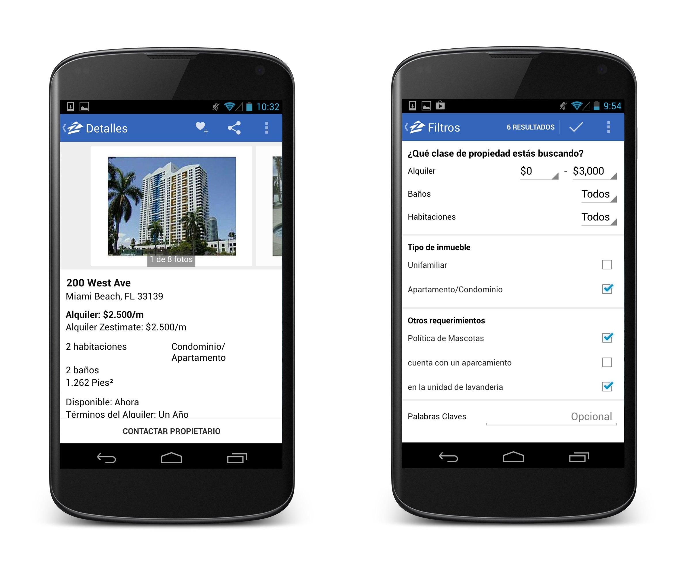 Zillow Rentals For Android Now Features Google's 3D Maps And