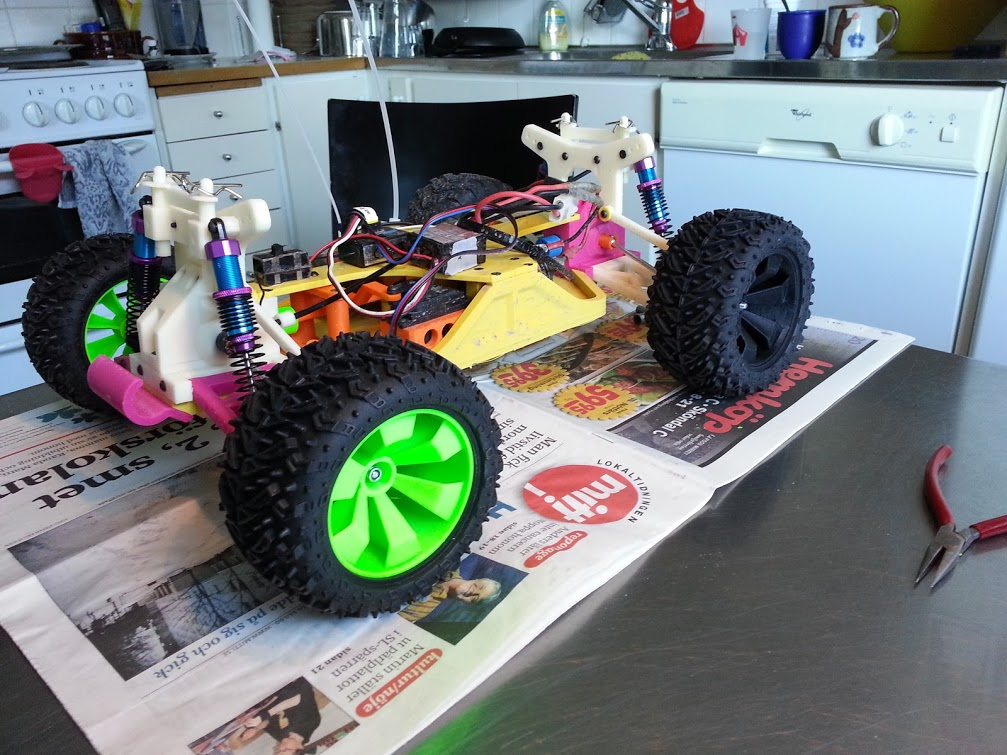 Track The Progress Of This 3D-Printed OpenRC Truggy, A