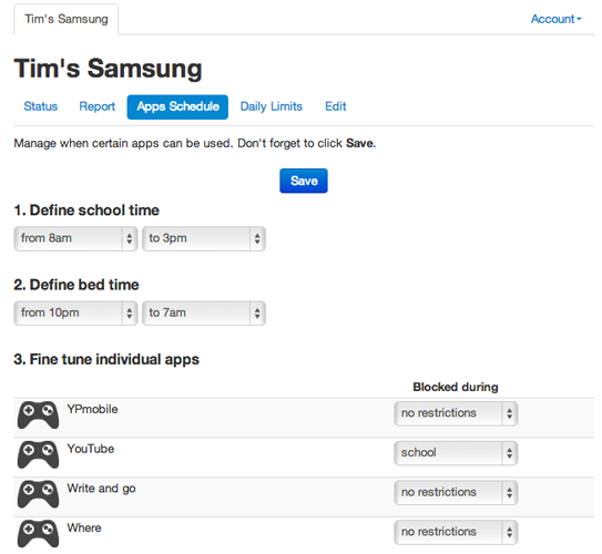 dashboard-time-schedule