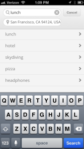 iPhone SERP