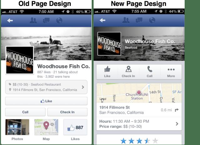 Page Design Comparison