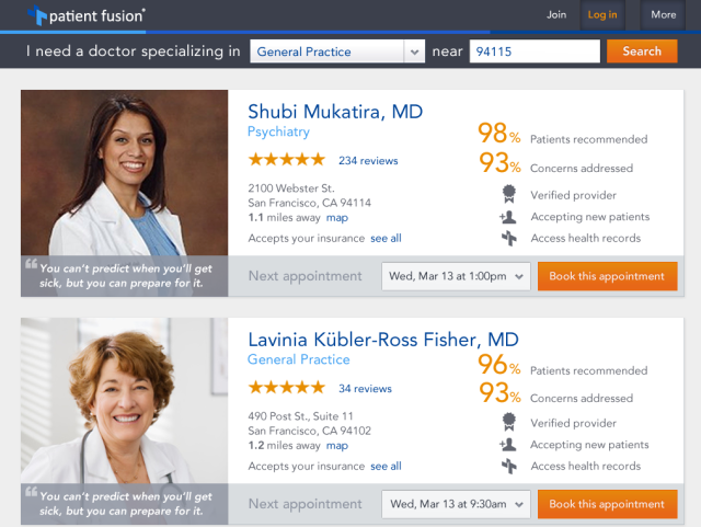 Patient Fusion Search And Reviews