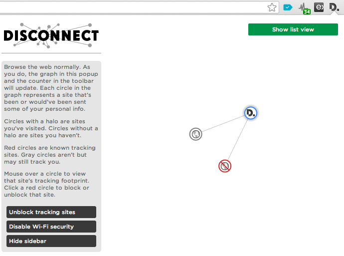 Disconnect 2 Brings More Privacy To Your Browser, Lets You Block 2K+