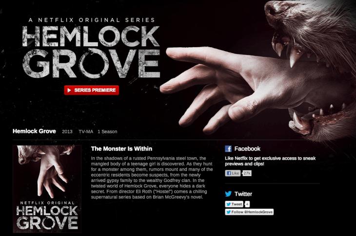 Hemlock Grove Travfashjourno.com Which omvies tv shows to watch