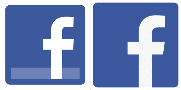 Another Win For Flat Design As Facebook Gives Its F Logo Other