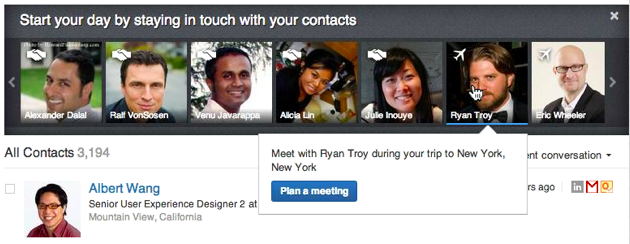 linkedin contacts photos