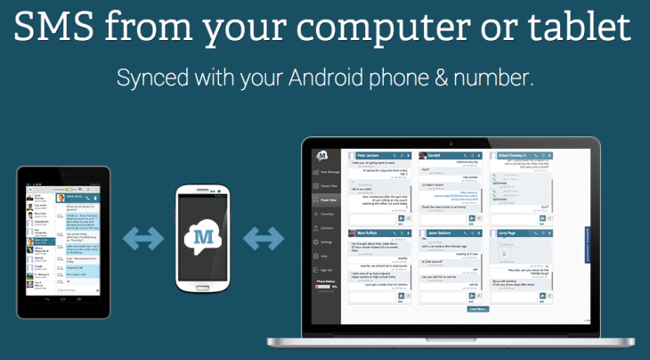 "MightyText, ""The iMessage for Android,"" Targets iCloud With"