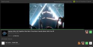 soundrop web player video audio sync