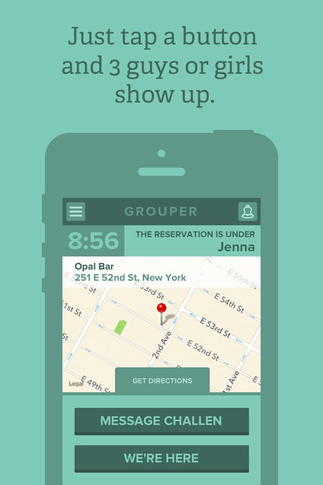 Grouper dating App