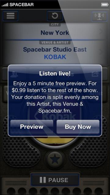 Spacebar_Screenshot_2 Listen Live