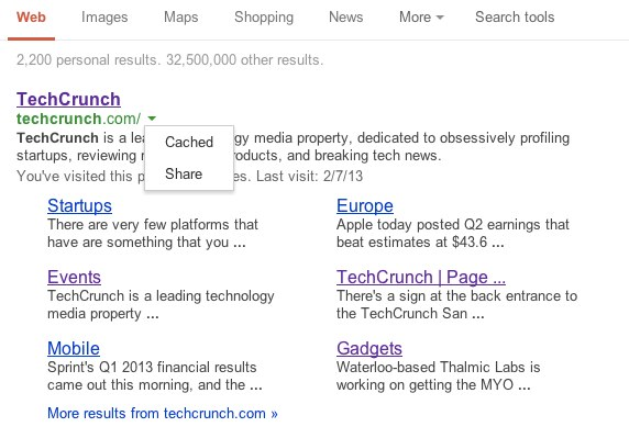 techcrunch - Google Search
