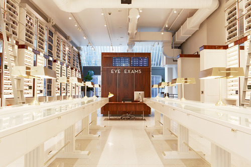 0f98977410dc Warby Parker Opens Retail Store In NYC