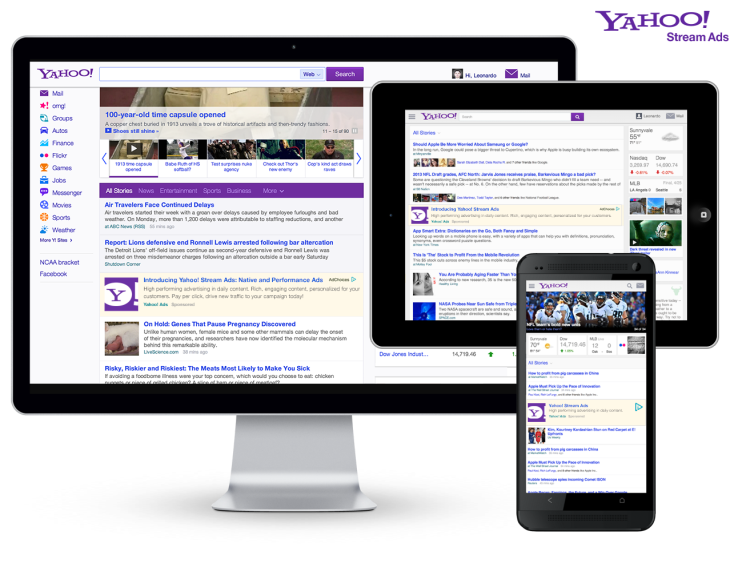 Yahoo Announces New Ad Formats: Mobile-Friendly Native Ads