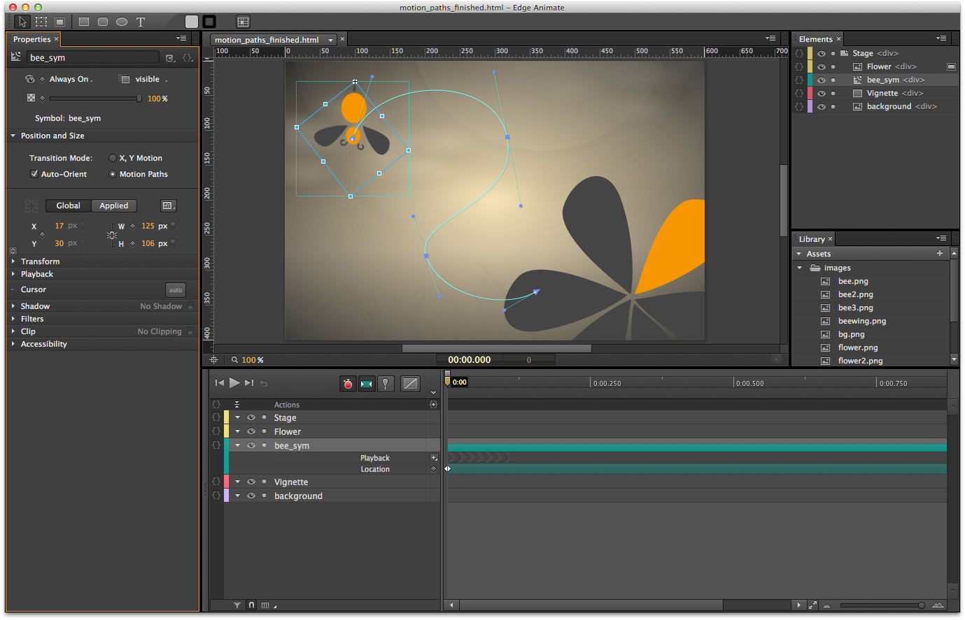 Adobe Updates Edge Animate HTML Animation Tool With Motion Paths