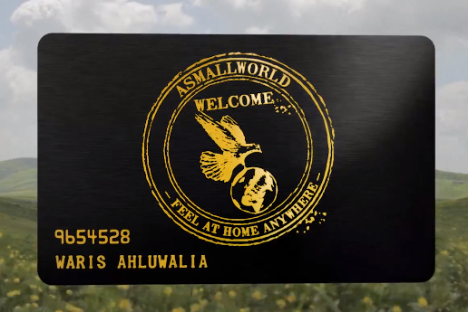 ASMALLWORLD Membership Card