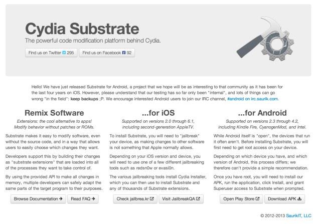 Cydia Substrate