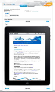 silverpop email insights