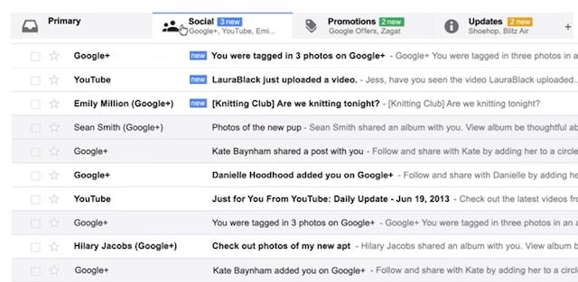 Google Social Spam