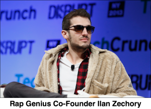 Ilan Zechory Co-Founder Rap Genius