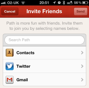 New Path Inviter