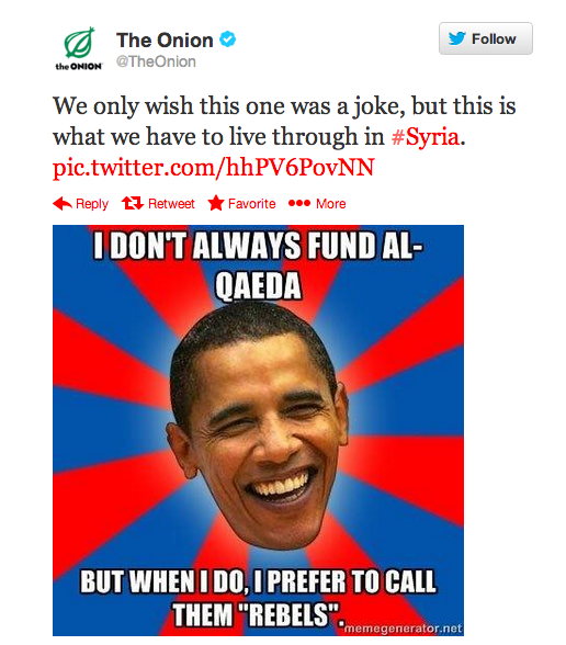 The Onion's Suspected Twitter Hack Reveals The Syrian