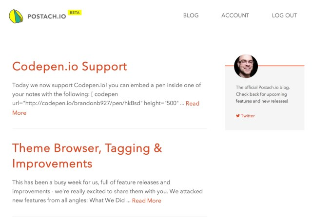 Postachio Blog