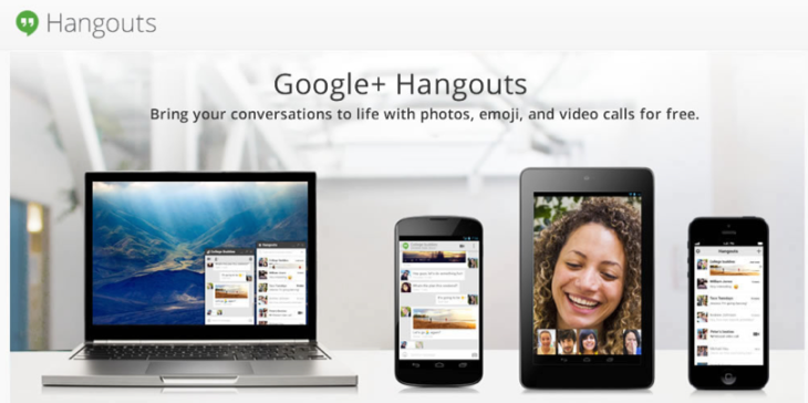 """Google Unites Gmail And G+ Chat Into """"Hangouts"""" Cross"""