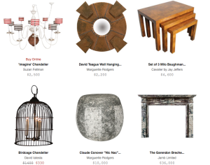 One of a kind items for sale on Dering Hall