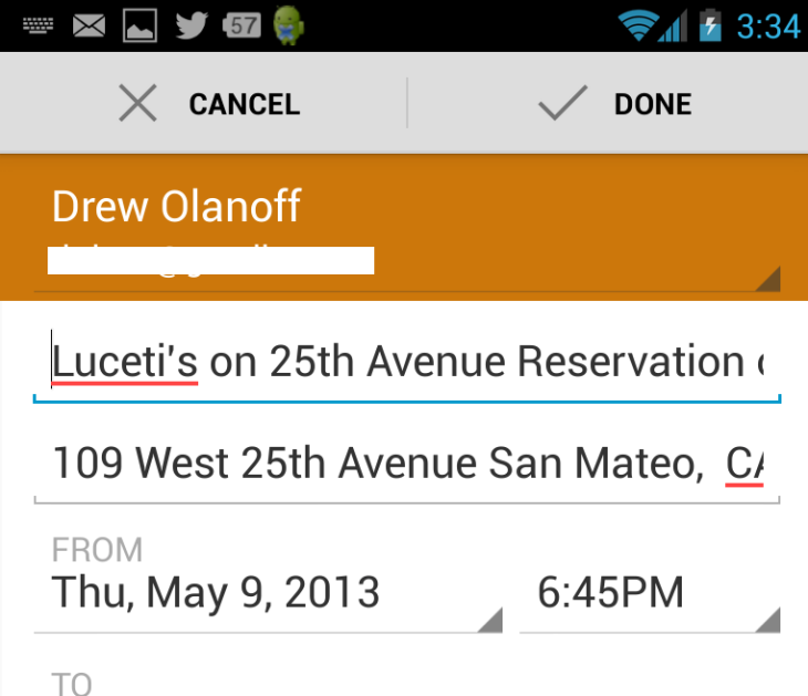 OpenTable For Android Gets Better Google Maps Integration Booked - Google open table