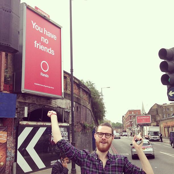 Rando billboard