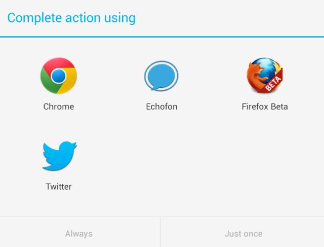 Android scheme