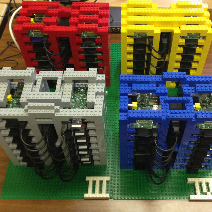PiCloud Is A Model Cloud Made Of Raspberry Pi & LEGO For