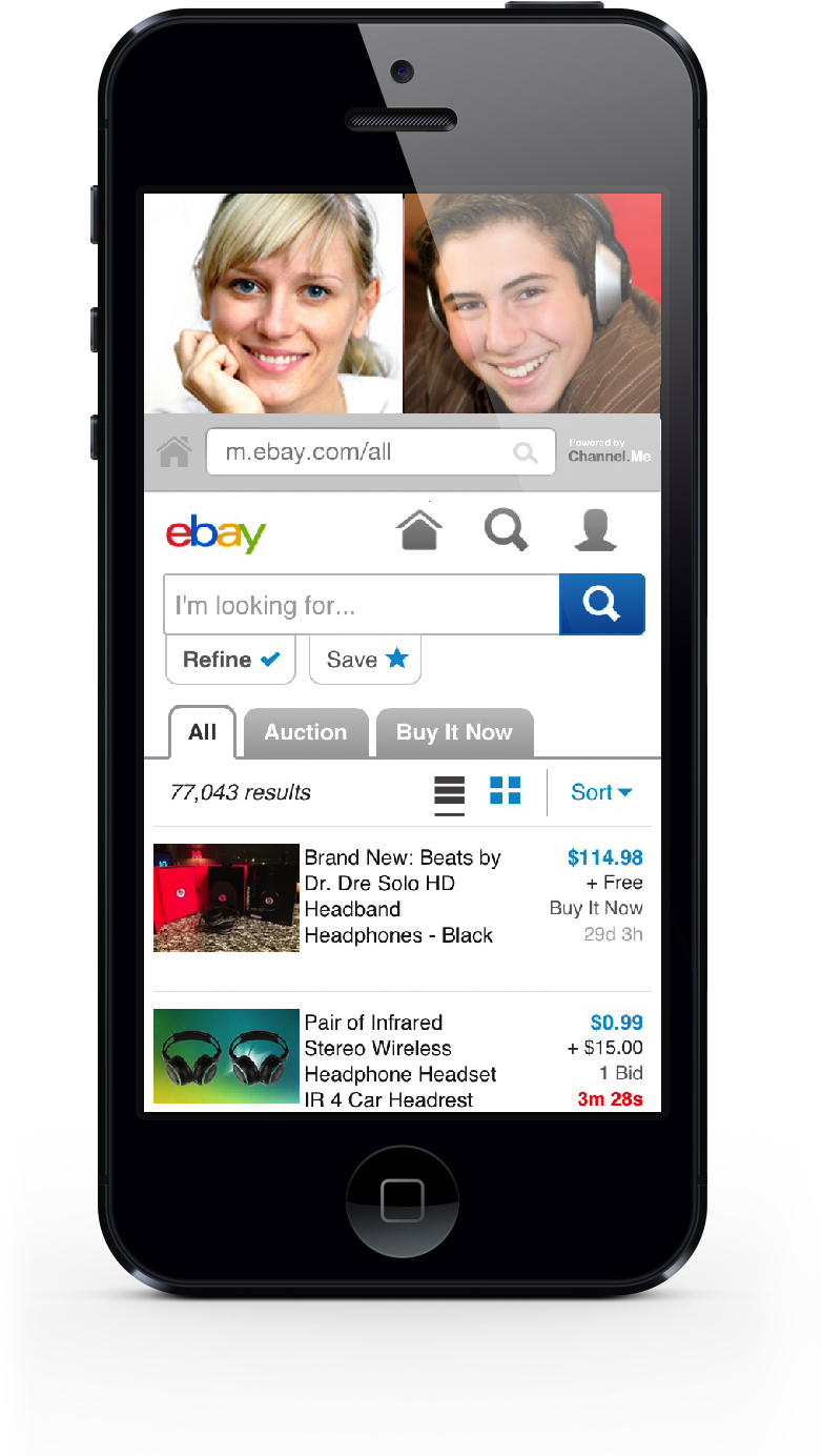 Mobile video chat sites