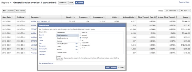 Facebook Updates Its Ad Manager Reports With More Customizable, Real
