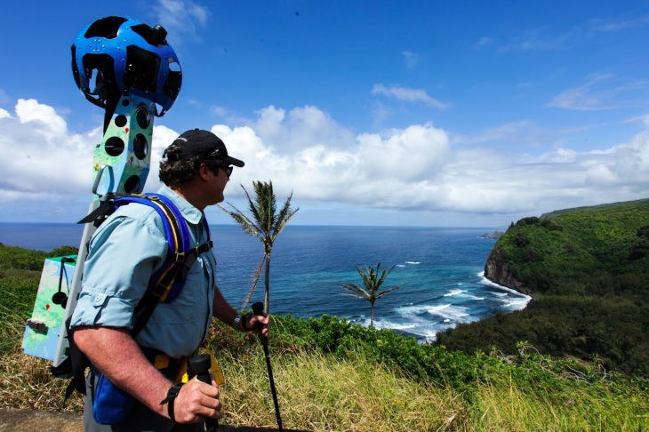 Google Looking For Groups To Provide The Next Hikers To Don Trekker - Google maps trails