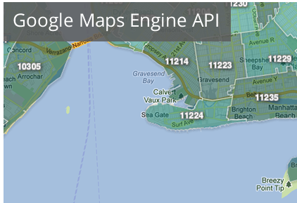 Google Launches Maps Engine API To Allow Enterprise ... on map description, map features, map artist, map illustrator,