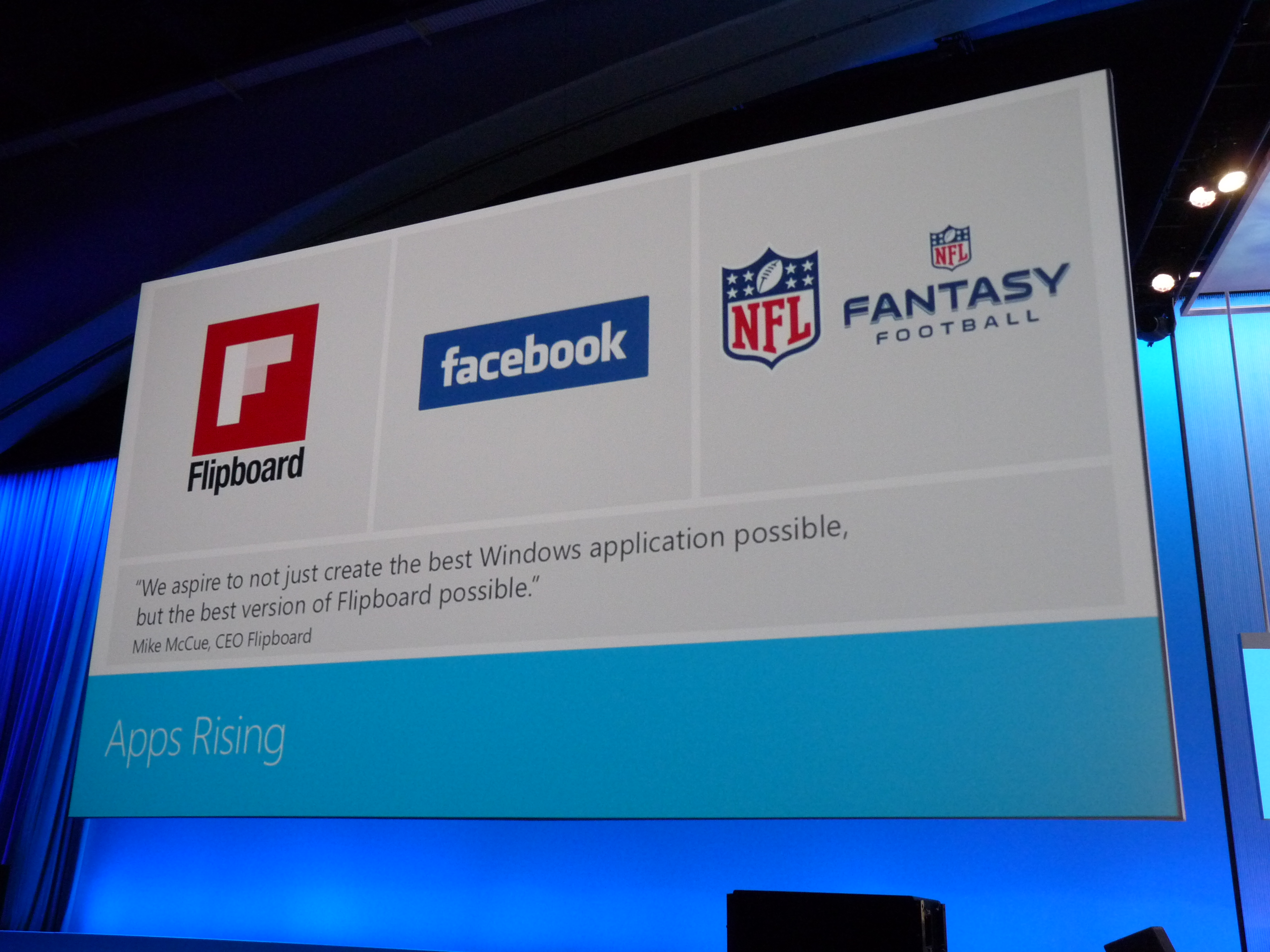 Official Facebook, Flipboard, And NFL Apps Are Coming To