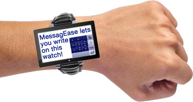 messagease watch mock-up