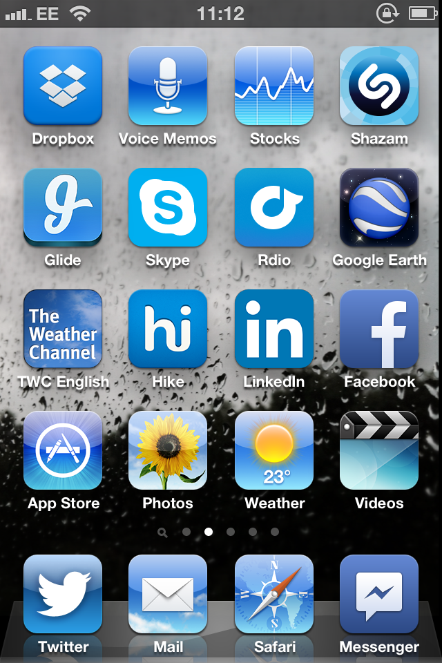 Blue Apps Are All Around But Blue Tones Get Less Of A Role