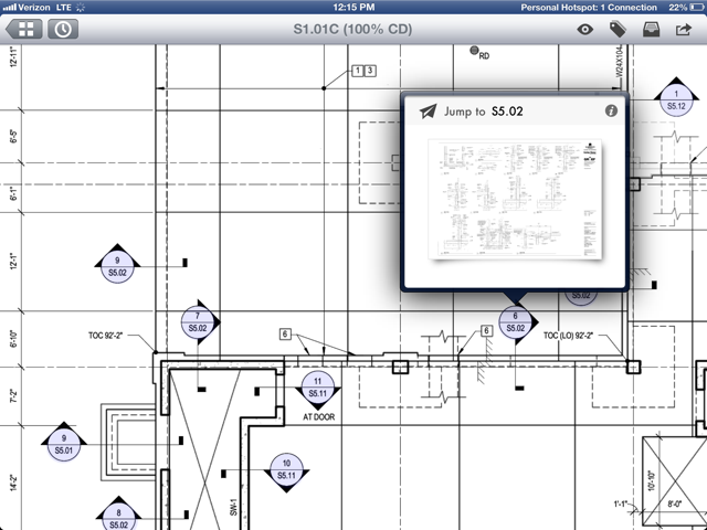 Plangrids blueprint app adds automatic hyperlinking and web based plangrid a startup that hopes to replace blueprint printouts on construction sites with those that can be viewed on an ipad has just released its latest malvernweather Choice Image