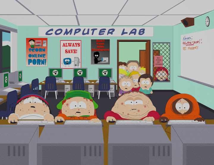 south_park_wow_computer_lab